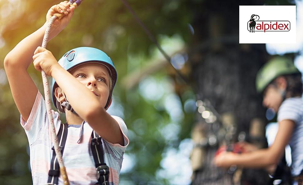 Ab Wann Klettergurt Für Kinder : Alpidex kinder klettergurt komplettgurt: amazon.de: sport & freizeit