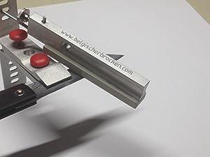 Schleifstein Gelber Belgischer Brocken für Schleifsystem Lansky Messer-Schärfer