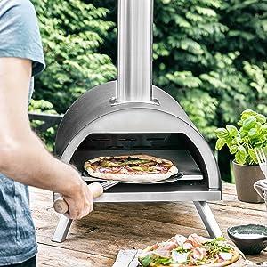 pizzaofen nero