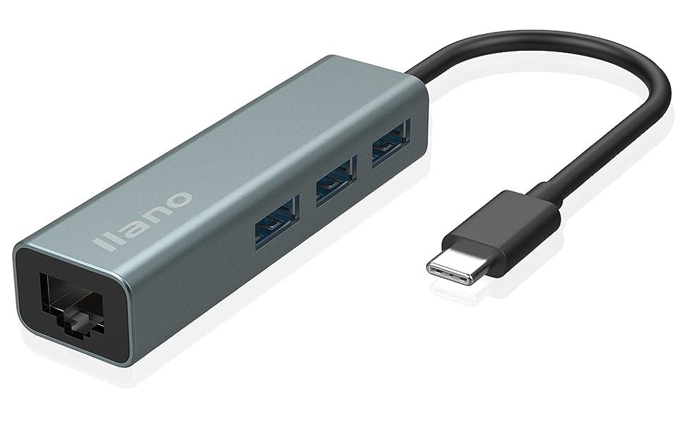 USB C-zu-LAN-Ethernet-Adapter