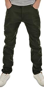 Pantalones térmicos para niños y jóvenes.