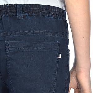 Pantalones de traeger jeans-leggings infantiles, colorido-E para niña, pantalones de invierno