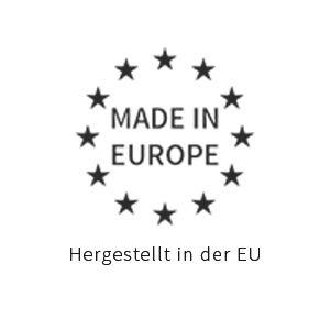 Fabricado en Europa.