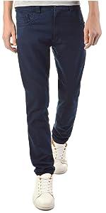 Pantalones elásticos para niños con forma de tubo, corte recto y ajustado, 22872