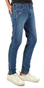 Ratex Coole Jeans Pantalones Niños, Algodón, Pantalones vaqueros elásticos