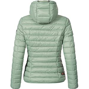 huge selection of 1090a bdc4e Marikoo Damen Übergangs-Jacke Steppjacke EIN Und Alles (vegan hergestellt)  10 Farben XS-XXL