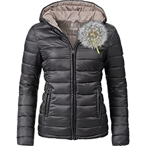 Marikoo Damen Winter-Jacke Steppjacke Lucy 11 Farben XS-XXL  Amazon ... 1dc80e4959