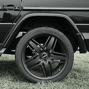 Lorinser Leichtmetallrad Rs9 10 0x22 Et45 Schwarz Für Mercedes Benz G Klasse W463 Auto