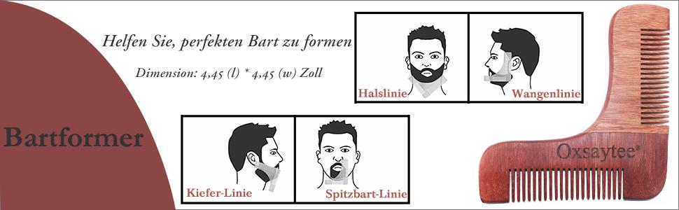 Bartpflege Set Bart Set Bartpflegeset 6teilig Bart Bürste