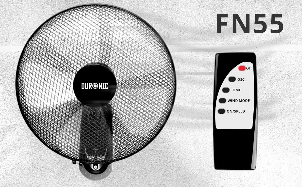 Duronic FN30 Turbo Standventilator 60W h/öhenverstellbar Durchmesser: 45 cm Standl/üfter//Ventilator ideal f/ür Zuhause und B/üro runder Standfu/ß 3 Geschwindigkeiten mit Oszillationsfunktion