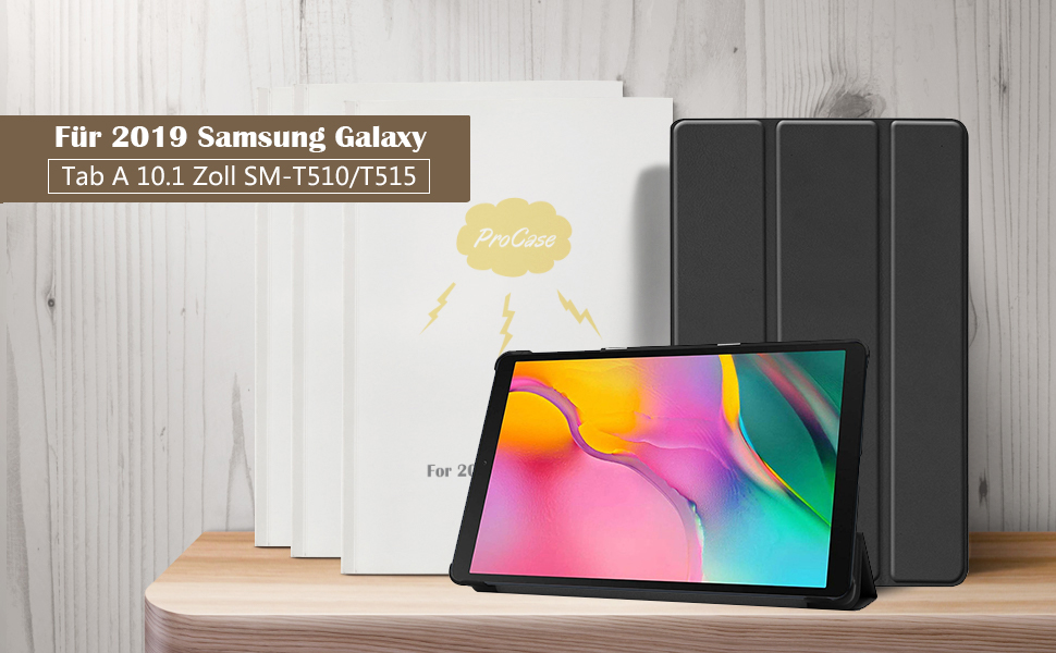 Procase Hülle Für Galaxy Tab A 10 1 2019 T510 T515 Elektronik