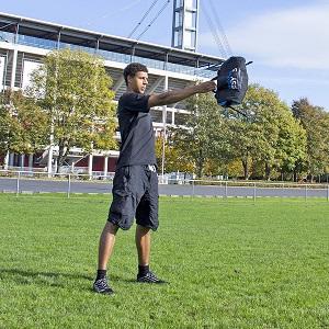 ungef/üllt blackPack ESY M Variable Gewichtstasche bis 20kg beladbar mit Sand oder Wasser