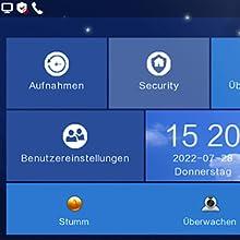 Foto Video Speicher Touchscreen Audio