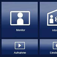 Wohnungsstation, Innenstation, Monitor, Touchscreen, Innenteil