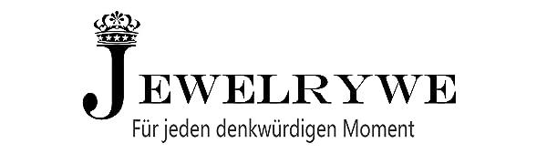 Gr/ö/ße 52 bis 62 JewelryWe Schmuck Damen-Ring Wei/ß Silber Elegant Baum des Lebens Edelstahl Strass Keramik Ring Band