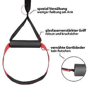 variosling schlingentraining schlingen suspension training schlinge glasfaserverstaerkt