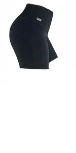 Formbelt leggings short schwarz
