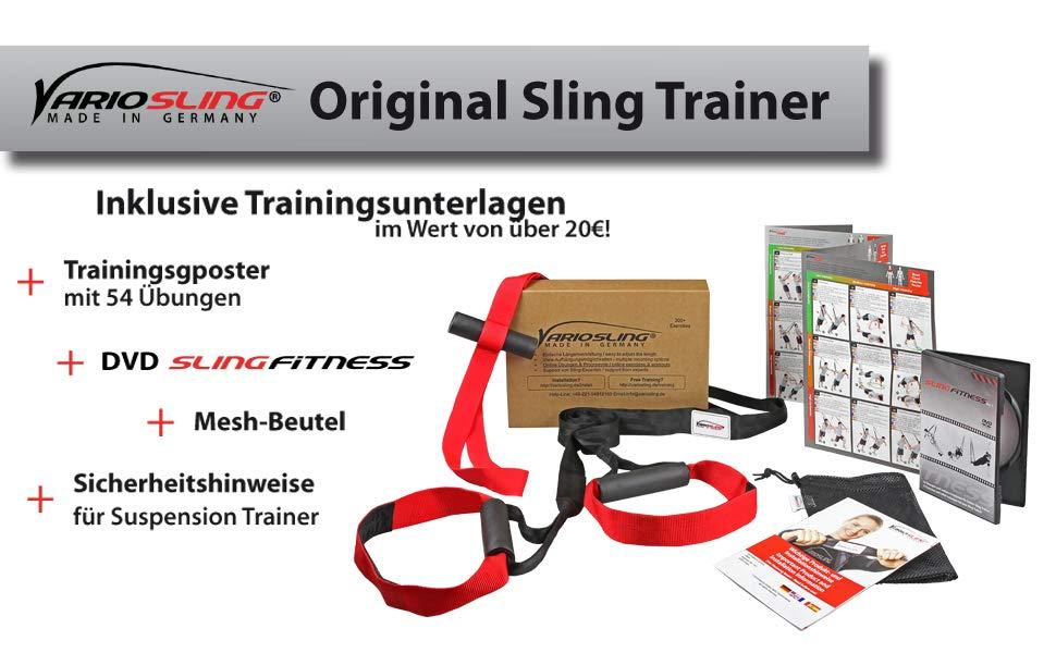 variosling schlingentrainer schlingen training suspension training made in germany