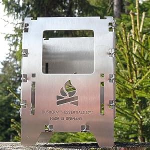 Hornillo Bushbox LF: Amazon.es: Deportes y aire libre