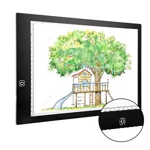 Ideal f/ür Diamant Malerei Anf/änger und Amateur A4 LED Leuchtplatte Leuchttisch mit USB-Kabel PFativant 133PCS Led Malerei Set 3 Helligkeitsstufen einstellbar