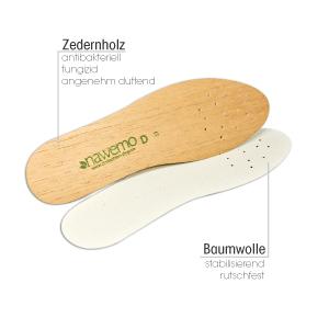 Gastro & Nahrungsmittelgewerbe Schweißfüße Zedernholzeinlagen Symbol Der Marke 5er-pack Original Zedernsohlen Gegen Fussgeruch