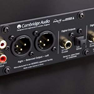 Cambridge Audio Dacmagic Plus Digital Analog Wandler Silber Audio Hifi