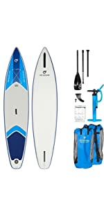 FIT OCEAN Magic Glide 10'8 Aufblasbares 15 cm Dickes Stand