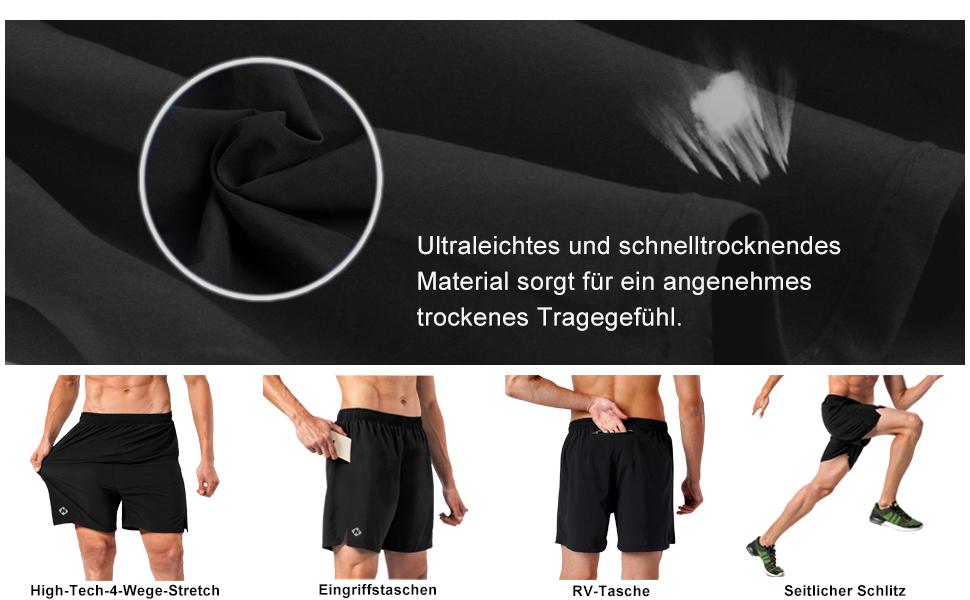Nike Dry Herren Su Logo Sport Shorts kurze Trainingshose Grau Neu