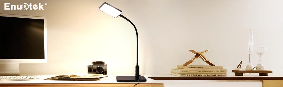 5W Schreibtischlampe Lampe LED Tischlampe Leuchte Büroleuchte Dimmbar Leselicht