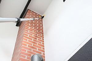 Fenwi teleskop reinigungs set für wintergarten fenster & terrasse