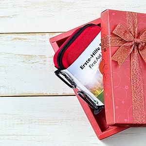Geschenk, Weihnachten, Ostern, Geburtstag, Geburtstagsgeschenk, Erste Hilfe Set