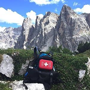 Erste Hilfe Set, Reisen, Outdoor, Wandern, Klettern, Verbandtasche, Din13167