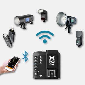 Godox X2t Ttl Wireless Flash Trigger Camera Photo