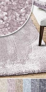 teppich teppiche weich kuschlig rose pastell trend modern mädchen zart wohnzimmer schlafzimmer