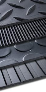 Meterware zahlreiche Verwendungsm/öglichkeiten Gummiplatten NR//SBR 120x300 cm St/ärke 1 mm Gummimatten in 9 St/ärken