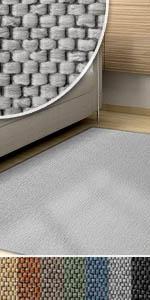 teppich teppiche sisalteppich sisal optik sisaloptik flach flachgewebe bunt pflegeleicht weich