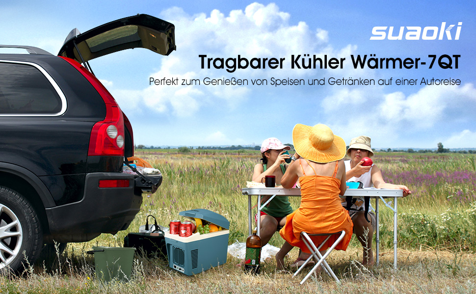 Auto Kühlschrank Mit Akku : Suaoki auto kühlbox tragbar 7 liter mini kühlschrank mit 12v ac dc