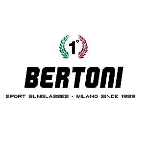Bertoni Lunettes De Moto Coupe Vent 3 Verres Antibuée Incluses Af109a Auto