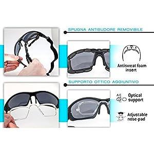 Motorradbrille umwandelbar Schutzbrille Antibeschlag UV schutz