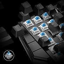 Blue Key Switches