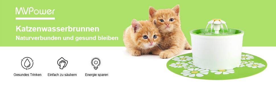 Katzenwasserbrunnen Naturverbunden und gesund bleiben