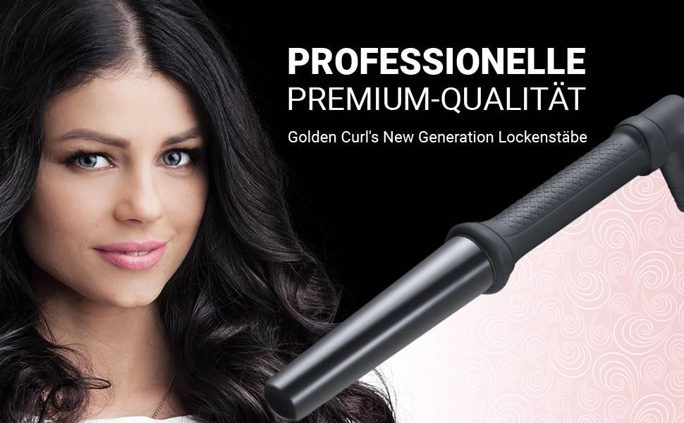lockenstab f r gro e locken kegelf rmig dicker lockeneisen haarlockenstab curling iron dicke