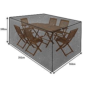 Kingsleeve Abdeckung Sitzgruppe 242x162x100cm  