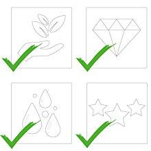 CREATISTO Sticker für Fliesen im Mosaikfliesen Stil sind Hochwertig, haltbar und wiederablösbar