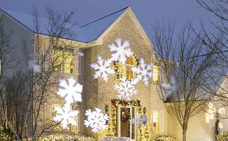 GESIMEI Weihnachtsbeleuchtung Außen Weihnachtsdeko Led Weiß ...