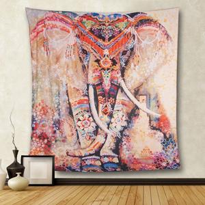 f7b9fdc802c9 Amazon.de  Hailicare 150x130cm Psychedelic Elefant Blume Tapisserie ...