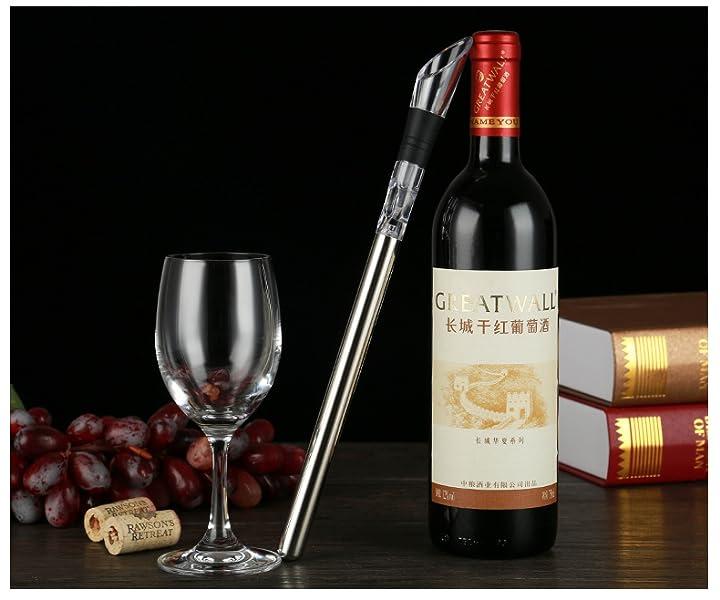FosFun WN-032 aireador de vinos botella de vino de acero ...