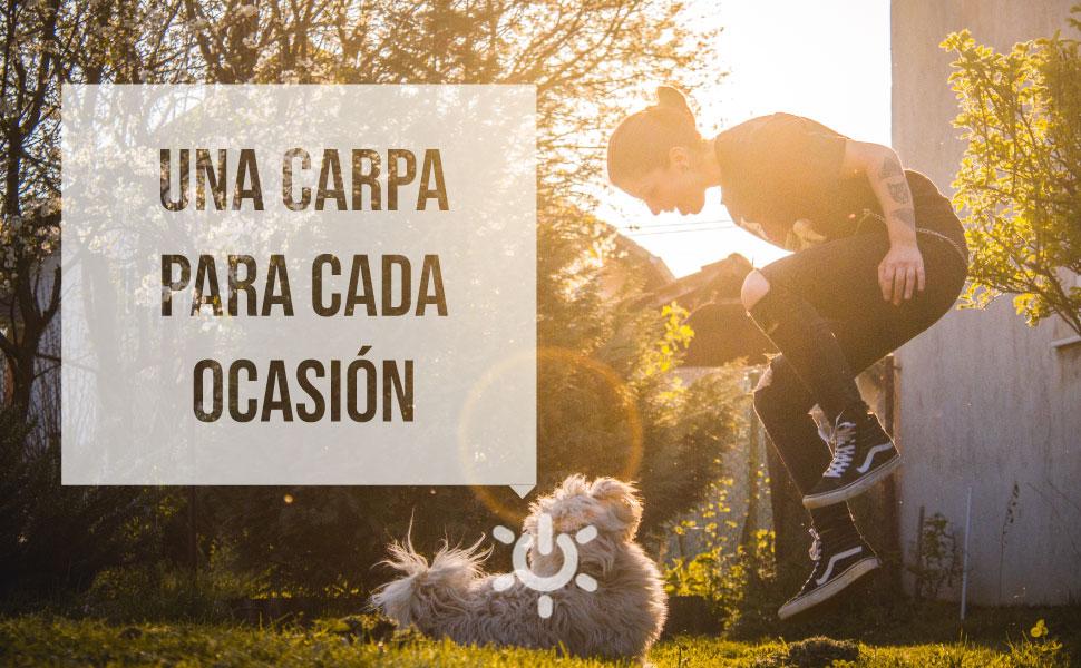 SmartSun Carpa California Baby Naranja 3x3m: Amazon.es: Jardín