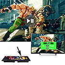 King Bomb Pandora Box 5 Versión Mejorada Arcade Game Console 1314 en 1 TV Video Game Kit con 2 Joystick Partes de la Fuente de alimentación HDMI y VGA ...