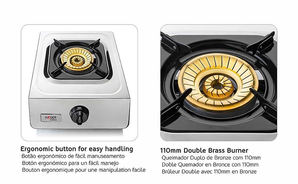 HAEGER SAFINE - Cocina a Gas con tecnología patentada ...